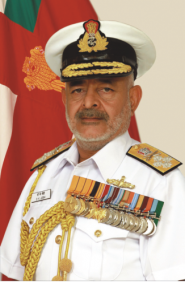 Chief of Naval Staff Admiral D.K. Joshi